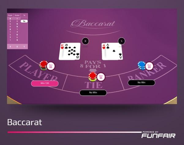CasinoFair Baccarat
