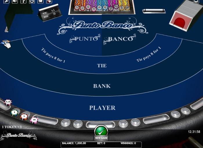 True Flip Punto Banco