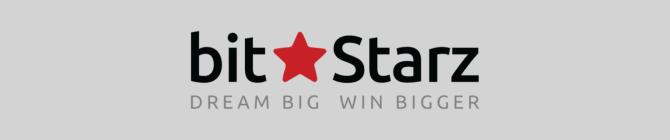 bitstarz logo with slogan