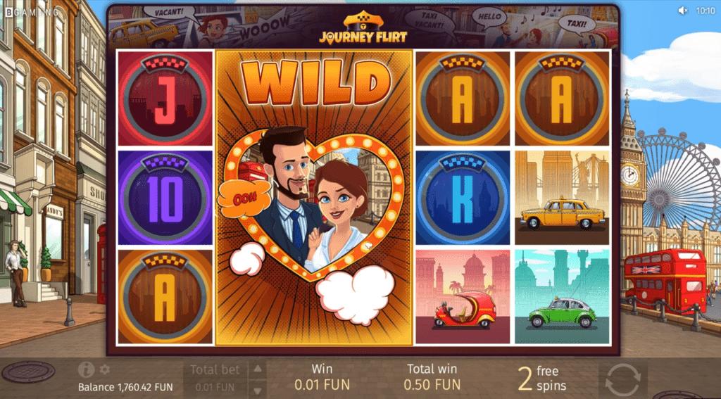 Journey Flirt slot machine