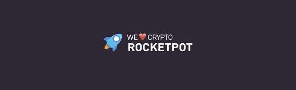Rocketpot Logo With Slogan