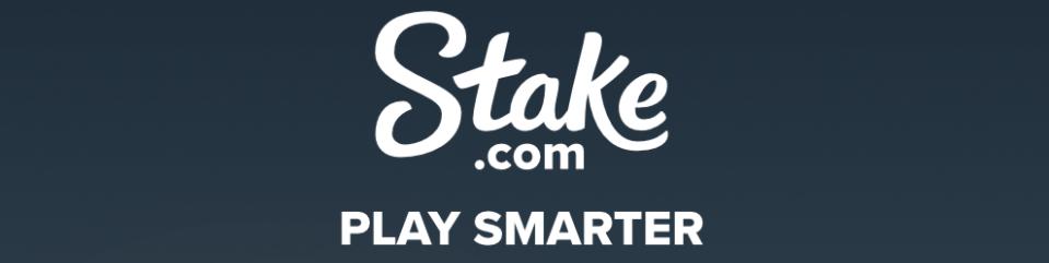 Stake Casino's Play Smarter Logo